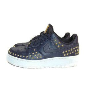 Nike Air Force 1 Low 07 XX Gold Star Studded Shoes